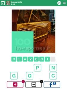 Solution 100 pics quiz instruments musique niveaux 1 100 - 100 pics solution instrument de musique ...
