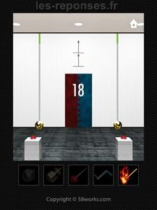 solution niveau 18 dooors iphone