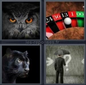Solution 4 Images 1 Mot Hibou Roulette Puma Parapluie 4 Lettres