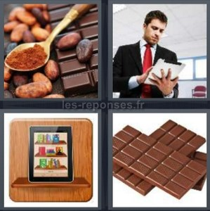 Solution 4 Images 1 Mot Cuillere Chocolat Tablette Ipad 8 Lettres