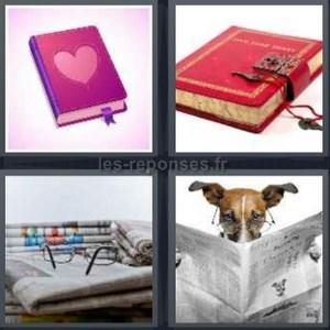 solution 4 images 1 mot livre coeur journal intime chien 7 lettres. Black Bedroom Furniture Sets. Home Design Ideas