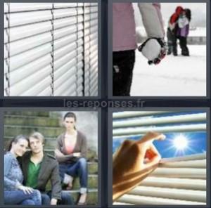Solution 4 Images 1 Mot Store Boule De Neige Escaliers