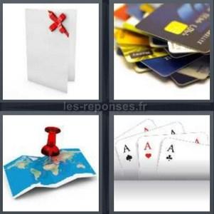 solution 4 images 1 mot carte bleue carte jouer cadeau. Black Bedroom Furniture Sets. Home Design Ideas