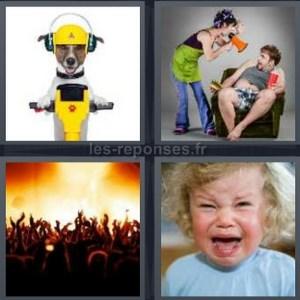 Perceuse 4 images 1 mot