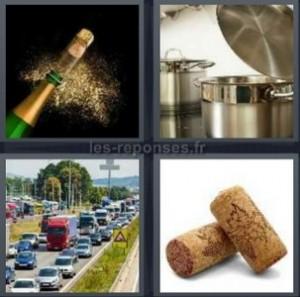 Solution 4 Images 1 Mot Champagne Gamelle Embouteillage Bouchon 7 Lettres