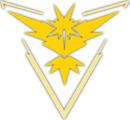 équipe jaune pokemon go