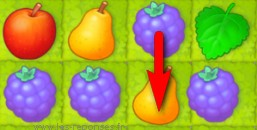 4 éléments alignés dans Gardenscapes