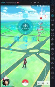 jouer sur pc à pokemon go