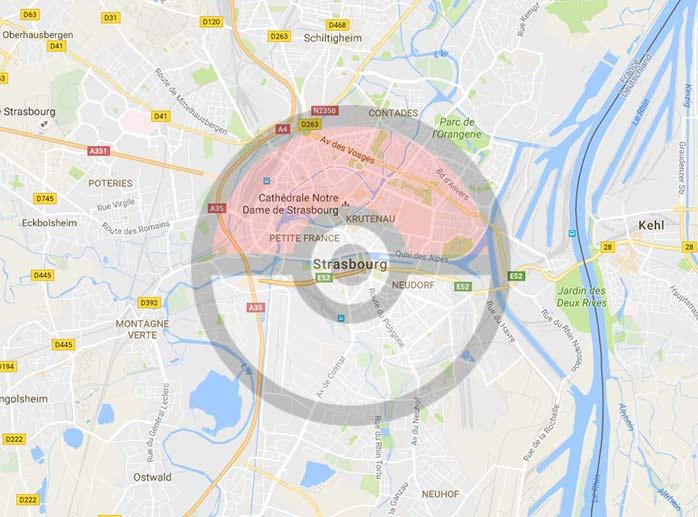 Plan Musee Dart Moderne Strasbourg