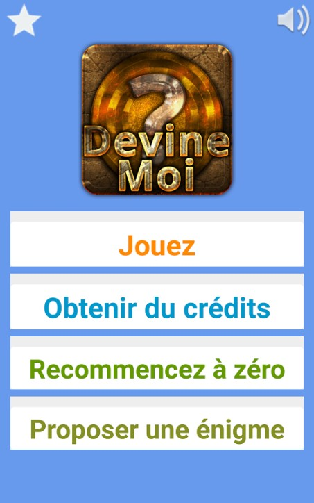 Solution complète Devine moi (Android & iOS)