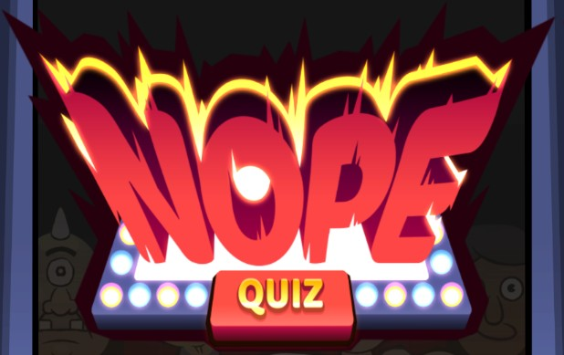 solution officielle de Nope Quiz