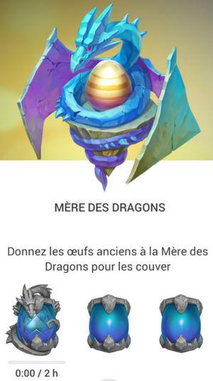 Mère des dragons : cocon