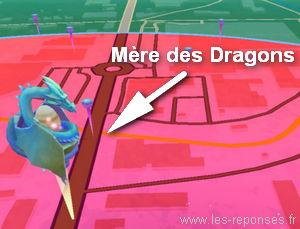 la Mère des Dragons dans Draconius Go