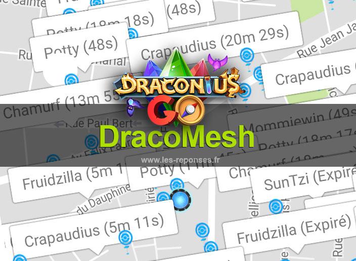 dracomesh : radar android pour Draconius Go