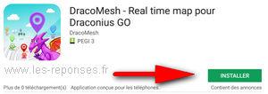 installation de DracoMesh sur Android