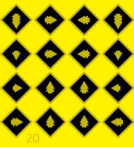 solution du niveau 20 de Yellow