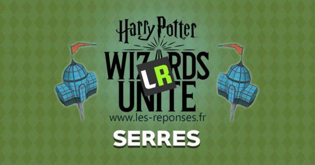 les serres dans Harry Potter Wizards Unite