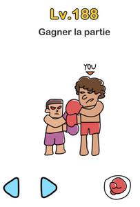 solution brain out niveau 188 boxeurs