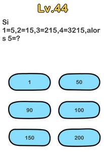 solution niveau 44