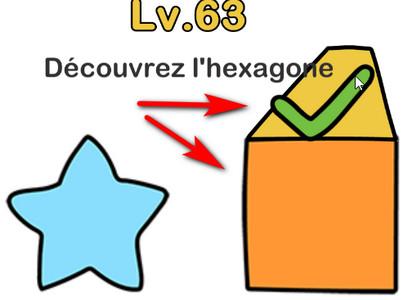 hexagone niveau 63