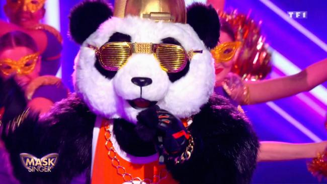 panda mask singer