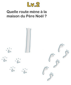 solution brain out noel niveau 2 route pere noel