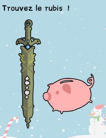 rubis épée tirelire stumpe me niveau 157