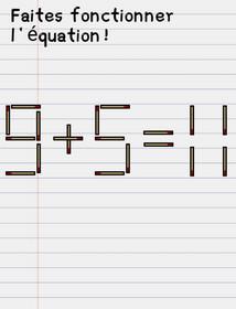 stump me solution niveau 19 équation