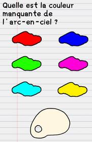 solution stump me niveau 23 arc en ciel peinture couleur