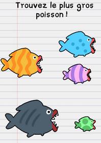 stump me solution niveau 6 poissons
