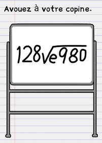 stumpe me niveau 98 tableau maths