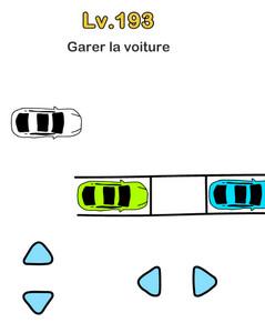 brain out niveau 193 solution voiture garer parking