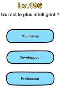 brain out niveau 196 intelligent solution
