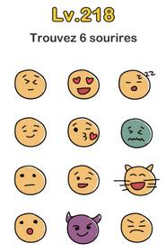 solution niveau 218 brain out sourire smiley emoji