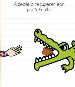 brain test niveau 103 crocodile