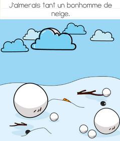 solution niveau 164 brain test bonhomme de neige