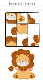 brain test niveau 165 lion