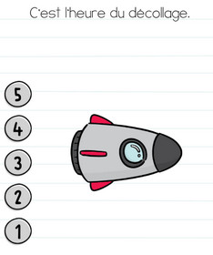 brain test niveau 171 fusée solution