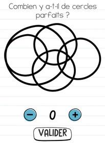 brain test niveau 183 cercle parfait