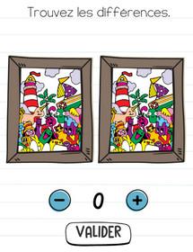 brain test niveau 28 differences tableaux