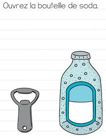solution niveau 33 brain test bouteille de soda