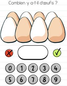 brain test niveau 54 oeufs