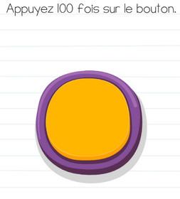 solution brain test niveau 69 bouton