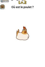 brain boom niveau 2 poulet
