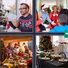 Solution 4 Images 1 Mot 29 Decembre 2020 Enigme Journaliere Noel