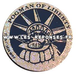 kini 13 statue de la liberté Pogman of liberty série 3