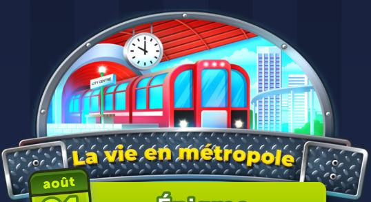 la vie en métropole, solutions 4 images 1 mot aout 2021