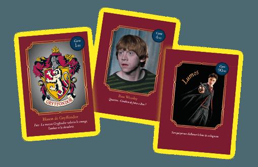 carte collection auchan harry potter 2021